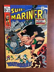Sub-Mariner-28-1970-6-5-FN-Marvel-Key-Issue-Bronze-Age-Comic-Youthquack-App