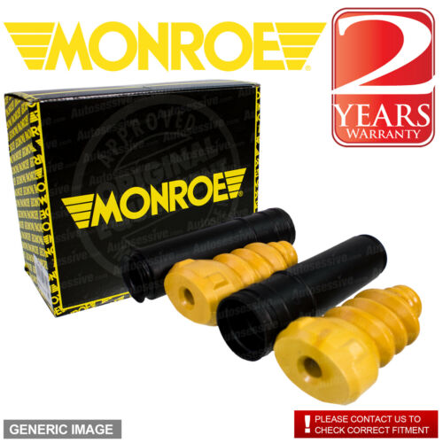 Monroe Rear Right Left Shock Absorber Protection Kit x1 MAZDA 2 1.4 2002-2007