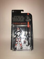 "Star Wars Black Series Republic Trooper 3.75"" #31 opener 2016 The Old Republic"