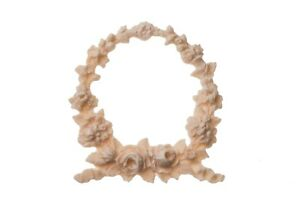 Shabby-Chic-French-Cottage-Style-Small-Floral-Rose-Wreath-Flexible-Applique