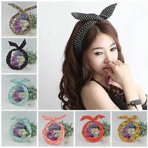 WIRE HEADBAND RETRO WIRED HEAD SCARF ROCKABILLY WIRE HAIR BAND HEAD ... f68b341be8e