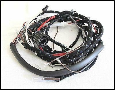 1966 TRIUMPH 350 500 650 TWINS CLOTH BOUND WIRING HARNESS LUCAS PN# 54938941