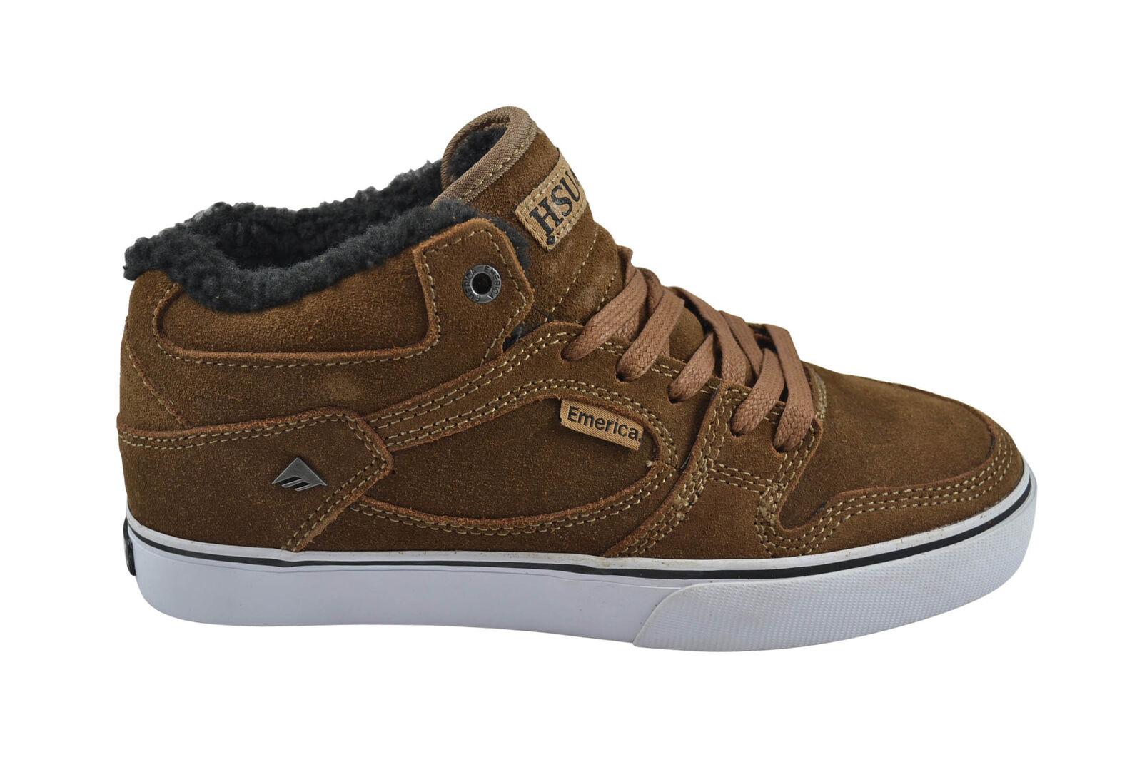 Emerica HSU SMU Skater Schuhe/Sneaker brown/white/brown Größenauswahl!!