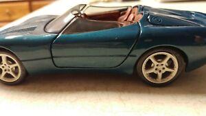 316623b6fb Details about Jaguar XK 180 Convertible Blue 1/25 Die Cast Metal Car Maisto  Free Shipping