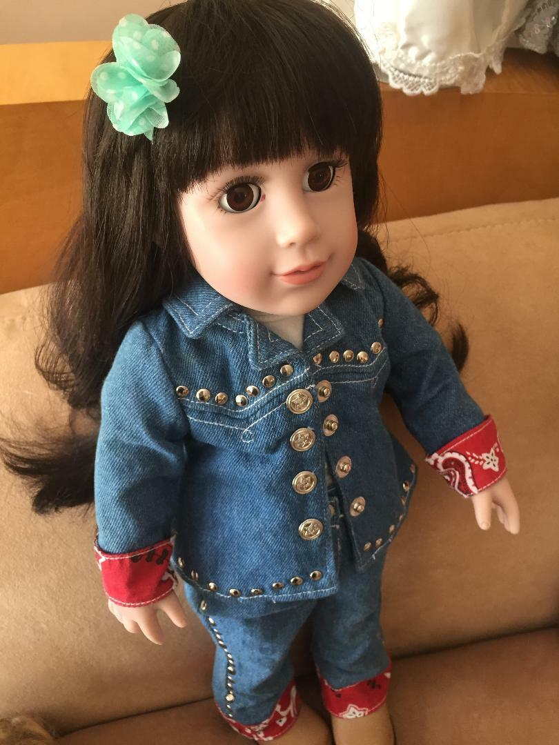 Adora Play nice Doll 18 , nice Play outfit, vinyl 349937