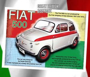 Fabulous-Fiat-Retro-Small-Metal-Wall-Sign-Plaque-Fiat-500