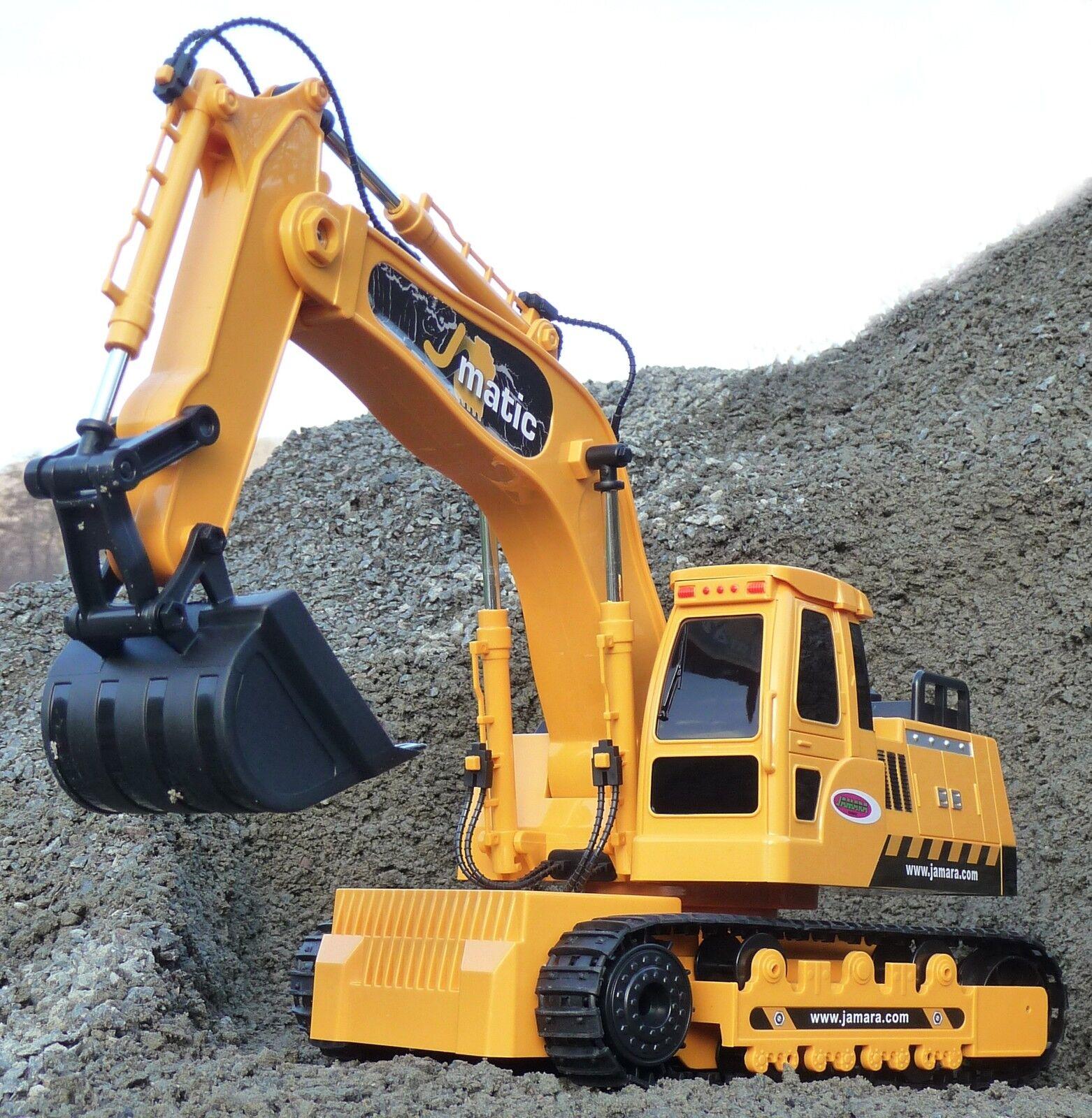 RC pala scavatrice Escavatore catene lunghezza 45cm con inclinazione  in qualità TOP  404920
