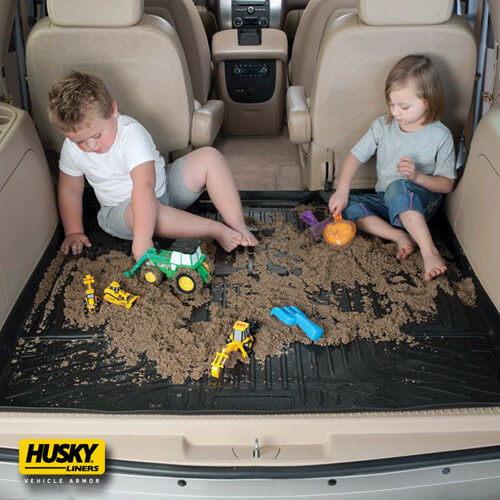 Husky WeatherBeater Trunk Cargo Liners Mats Blk Fit 11-15 Chevrolet Cruze