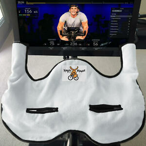 Happy Moose Indoor Cycling Towel for Peloton® Bike - Black