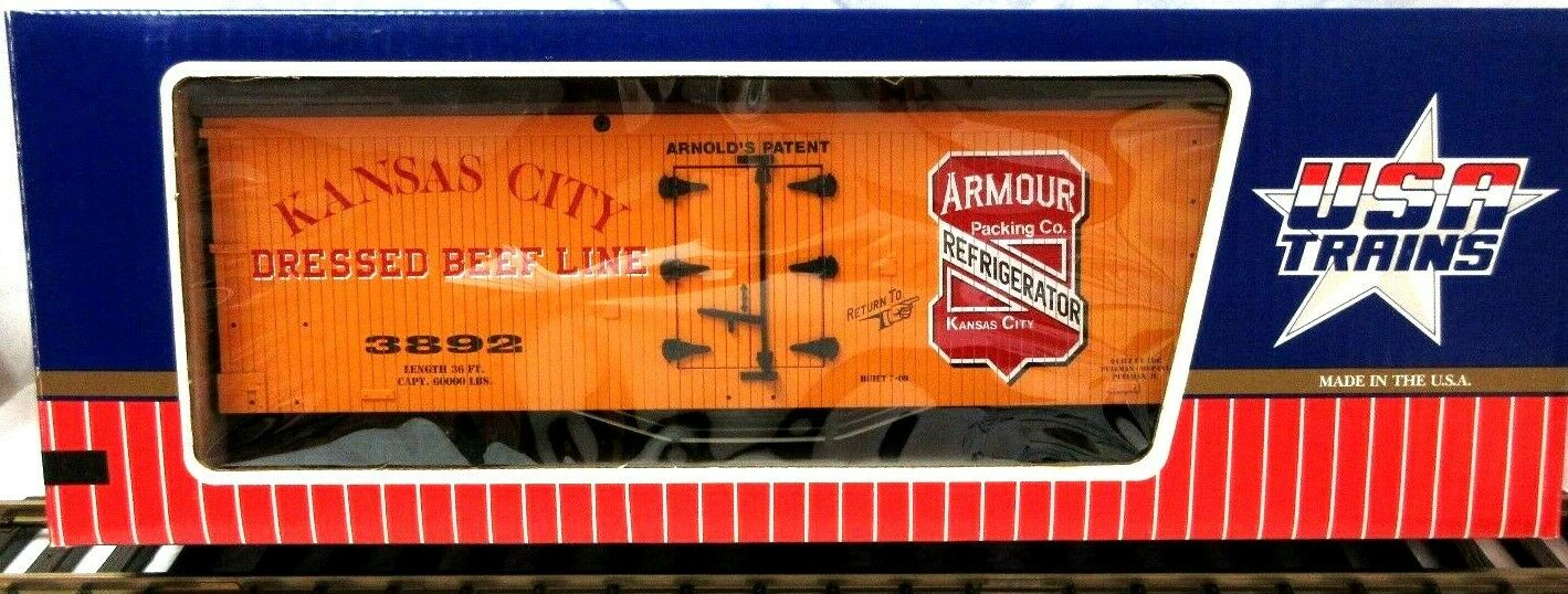 USA Trains 1666 armadura Embalaje Co. hierba