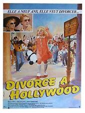 Affiche 40x60cm DIVORCE À HOLLYWOOD /IRRECONCILABLE DIFFERENCES 1984 NEUVE