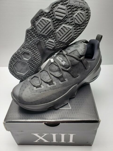 competitive price 64819 a76cc Nike Lebron XIII Low 13 Men Basketball Shoes Blackout Black - 9.5