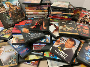 72-Lot-Bulk-DVDs-Movies-Action-Romance-Comedy-Suspense-and-More