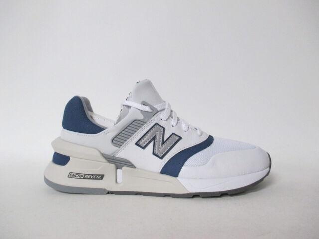 new balance blue and white