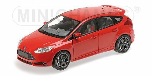 Ford Focus St 2011 rosso 1:18 Model MINICHAMPS