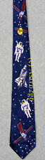 SPACE SHUTTLE SPACEWALK MMU SATELLITE ASTRONOMY SCIENCE Steven Harris Necktie