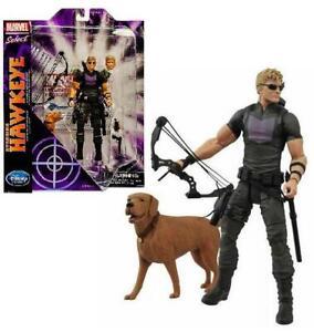 Marvel-Select-Avenging-Hawkeye-Disney-Exclusive-7-034-Action-Figure-20