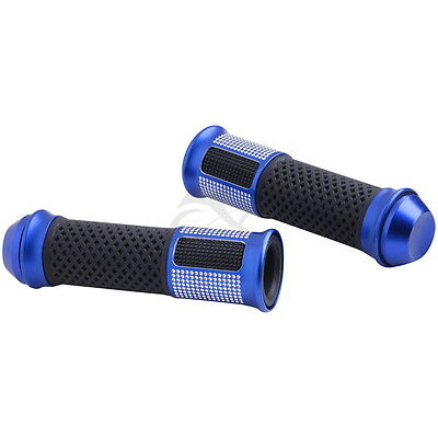 """7/8"""" Handle Bar Hand Grips For KTM 350EXC 450EXC 400EXC 525EXC Blue 02B"""