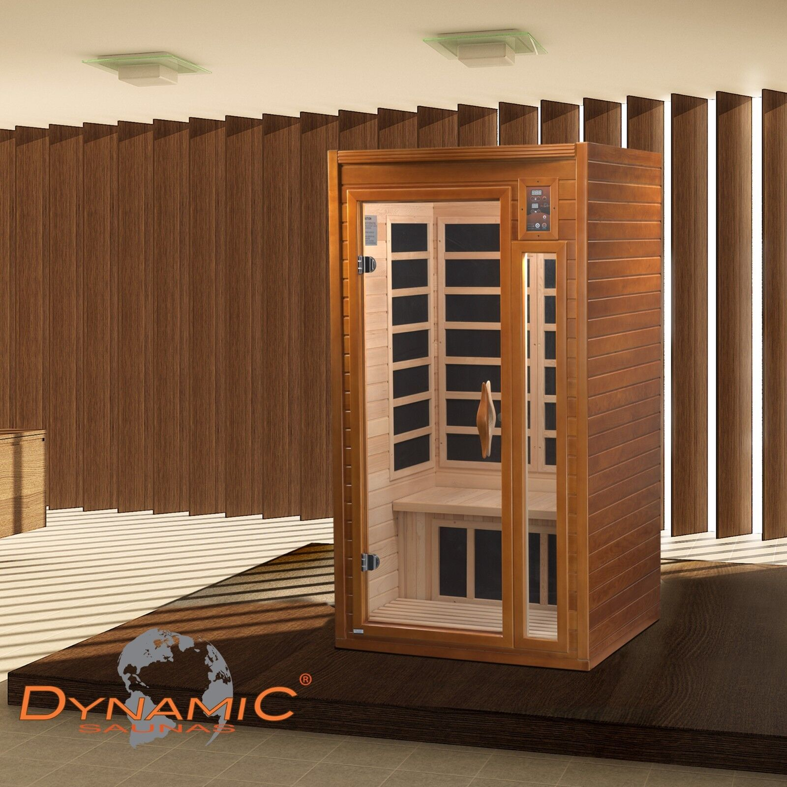 Dynamic 3 Person Low Emf Far Infrared Sauna Modena Edition 9 Carbon Heaters For Sale Online Ebay