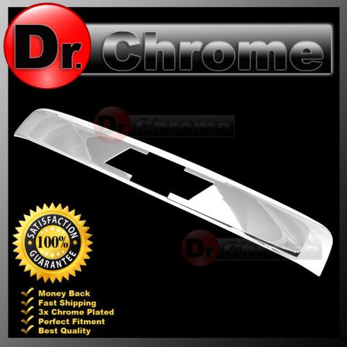 07-13 Chevy Tahoe+Suburban Chrome Top Liftgate Molding Logo Cutout Handle Cover