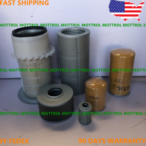 OIL FITS FOR CATERPILLAR CAT E120B ENGINE FILTER AIR HYDRAULIC  SERVICE FUEL