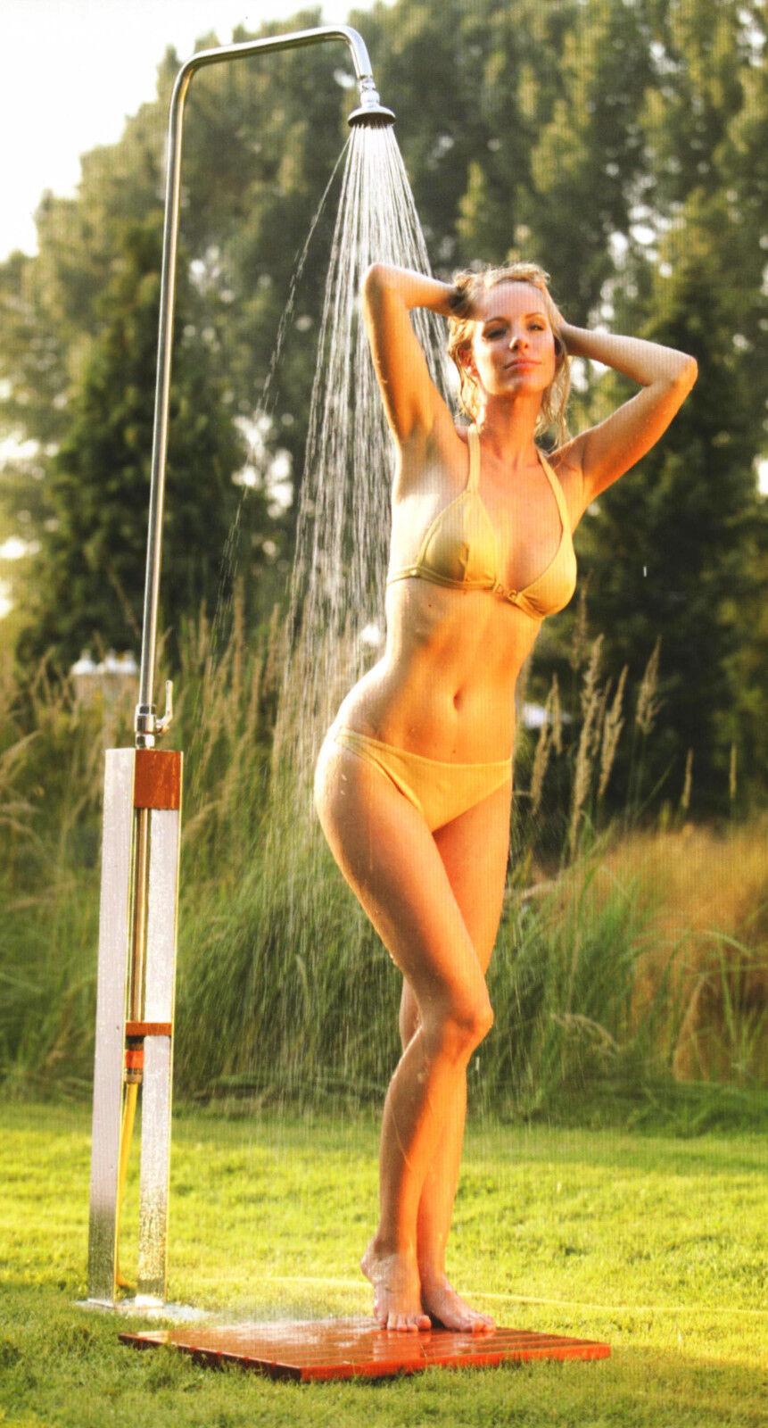 Gartendusche Altena Pooldusche Dusche Edelstahldusche Außendusche Shower