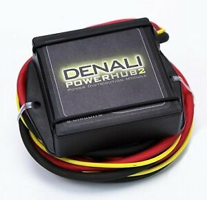 denali powerhub2 universal motorcycle power distribution hub fuse rh ebay co uk