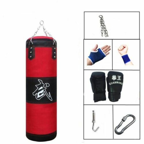 Punching Bag Sport Sandbag Training Fitness MMA Boxing Sandbag Muay Thai Gym
