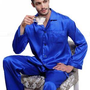 Sleepwear grande alto di Il di seta ha uomini del regalo messo pigiama raso degli xmas per uomini e gli il ZwTSBq