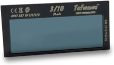 Tefuawe Auto Darkening Welding Lens True Color Blue 2x425x02 In Shade 10