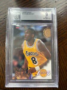 1996-97 NBA Hoops #281 Kobe Bryant Lakers RC Rookie HOF BGS 9 MINT 💲🐐📈🔥🏀