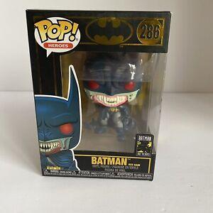 NEW VINYL FIGURE  DC:BATMAN 80TH BATMAN RED RAIN BATMAN #286 FUNKO POP