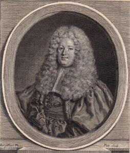 Portrait-XVIIIe-Jerome-d-039-Argouges-De-Ranes-Lieutenant-Civil-Maitre-Des-Requetes