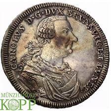 Z478) BRAUNSCHWEIG WOLFENBÜTTEL 1 Konventionstaler 1764 Karl I. 1735-1780
