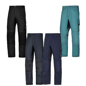 Snickers Allroundwork, Pantalons De Travail Pantalons Avec Kneepad Poches - 6301-afficher Le Titre D'origine