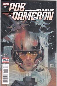 MARVEL-COMICS-STAR-WARS-POE-DAMERON-1-NM-UNREAD-74956-4-BR1