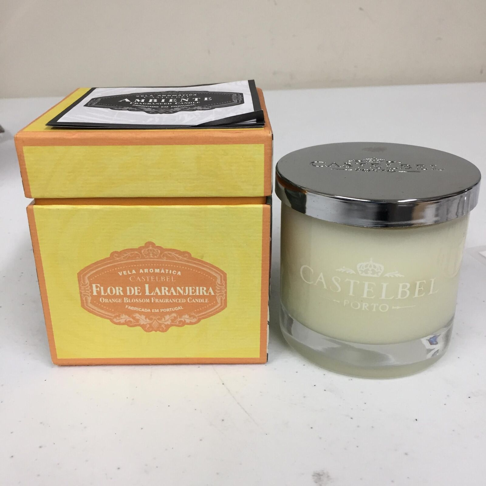 Castelbel Porto orange Blossom Flor De Laranjeira 8 OZ Ambient Fragranced Candle