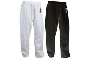 Karate-Pants-Adult-Gi-Trousers-Cimac-White-Black-Aikido-Martial-Arts-Men-Ladies