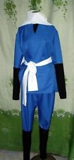 Gintama Zenzo Hattori Cosplay Ninja Costume Adult XL