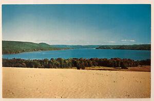 Sleeping-Bear-Sand-Dunes-National-Lakeshore-Michigan-MI-Postcard-Glen-Lake
