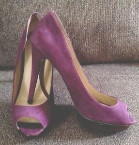 e16819fb08 BAKERS Purple Suede Leather