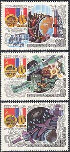 Russia-1982-spazio-razzi-medico-Scienza-Ricerca-galassie-astronomia-3v-b2620