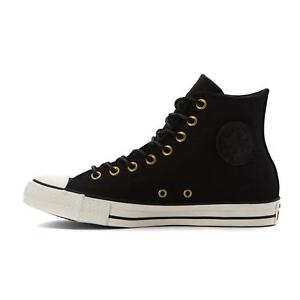 meet e889d 6c548 Image is loading Converse-Chuck-Taylor-All-Star-High-Leather-Black-