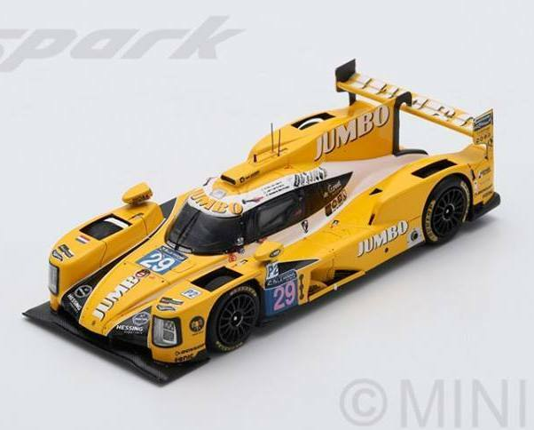 Dallara P217 Gibson  29 Le Mans 2017 Lammers Barrichello SPARK 1:43 S5816
