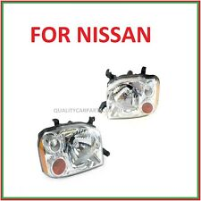 Headlights pair for Nissan Navara D22 ute 01-14