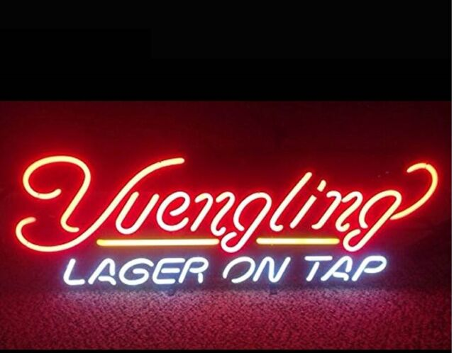 Yuengling Lager On Tap Beer Wall Decor Neon Light Sign 17