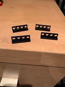 LEGO® Black Fence 1 x 4 x 1 Design ID 3633