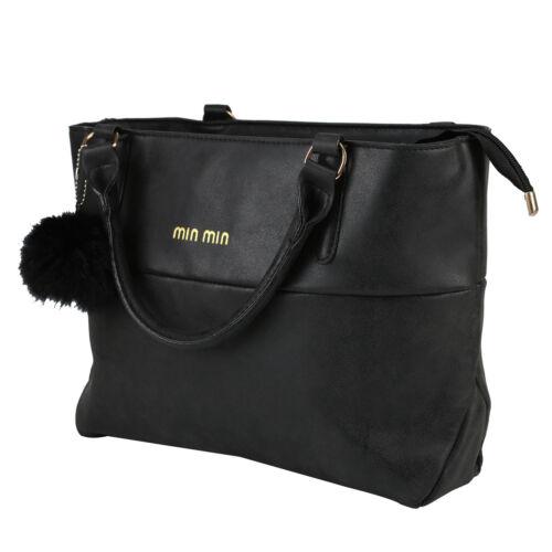 New Women Handbag Luxury Matte Leather Messenger Ladies Shoulder Bag UK