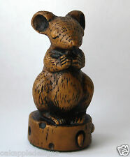 Church Mouse Praying on Cheese Unique Cute Cathedral Ornament Church Mice Gift