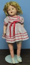 """Vintage 1930's Shirley Temple 26"""" Composition Doll"""